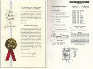 美国专利证书二